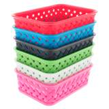 Small Plastic Woven Basket - 2
