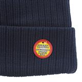 Tuque en tricot côtelé avec doublure en polaire pour hommes - 2