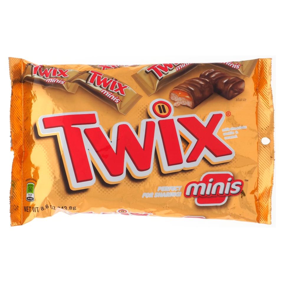 Twix mini format goûter