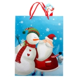 Gift Bag Large with Glitter or Foil Designs (Assorted Colours and Patterns) - 0