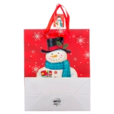 Gift Bag Large with Glitter or Foil Designs (Assorted Colours and Patterns) - 2