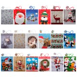 Gift Bag Large with Plain, Matte or Glossy (Assorted Colours and Patterns) - 1