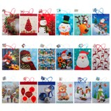 Gift Bag Large with Plain, Matte or Glossy (Assorted Colours and Patterns) - 2