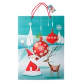 Gift Bag Jumbo with Glitter or Foil Finish (Assorted Colours and Patterns) - 0