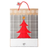Gift Bag Jumbo with Glitter or Foil Finish (Assorted Colours and Patterns) - 2