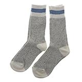 Paquet de 2 paires de chaussettes de laine pour femme - 3