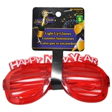 Flashing Lights Happy New Year Glasses - 0