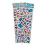 Stickers 35+PK (Assorted Colours) - 1