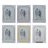 5'' x 7'' Metallic Photo Frame (Assorted styles) - 1