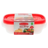 Divided Food Container 3PK - 0