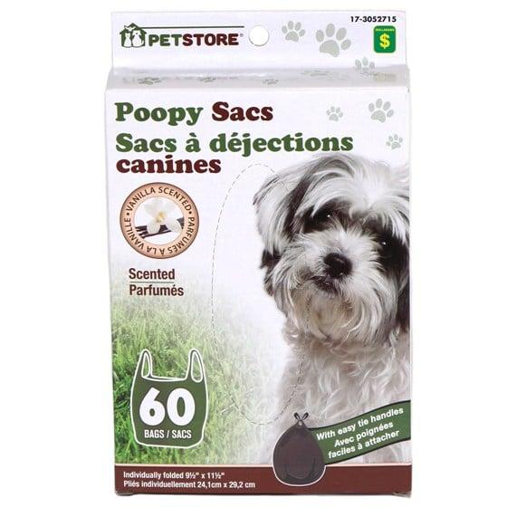 60 Sacs à déjections canines