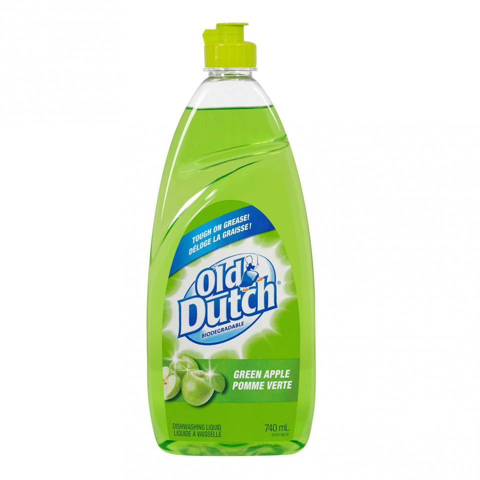 Dishwashing Liquid, Green apple scent