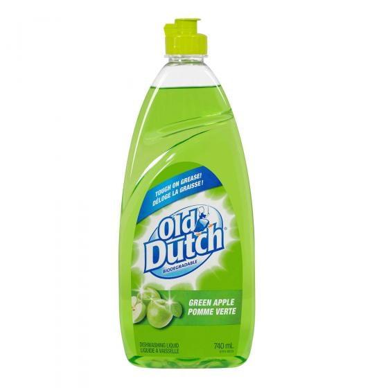 Détergent à vaisselle, parfum de pomme verte