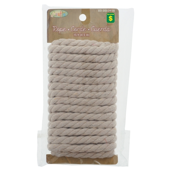 Craft Rope (Assorted Dimensions and Styles)