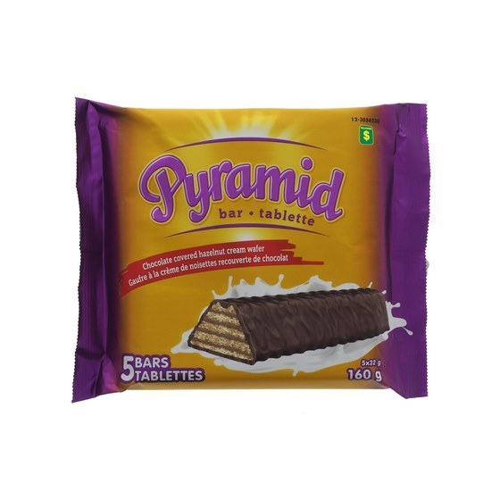 Pyramid Chocolate Bars 5PK