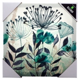 Framed Flower Print Canvas (Assorted collection) - 0