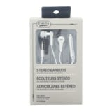 Stereo Earbuds with Microphone and Volume Control (Assorted colours) - 0