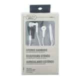 Écouteurs stéréo avec microphone et contrôle de volume (Couleurs assorties) - 0