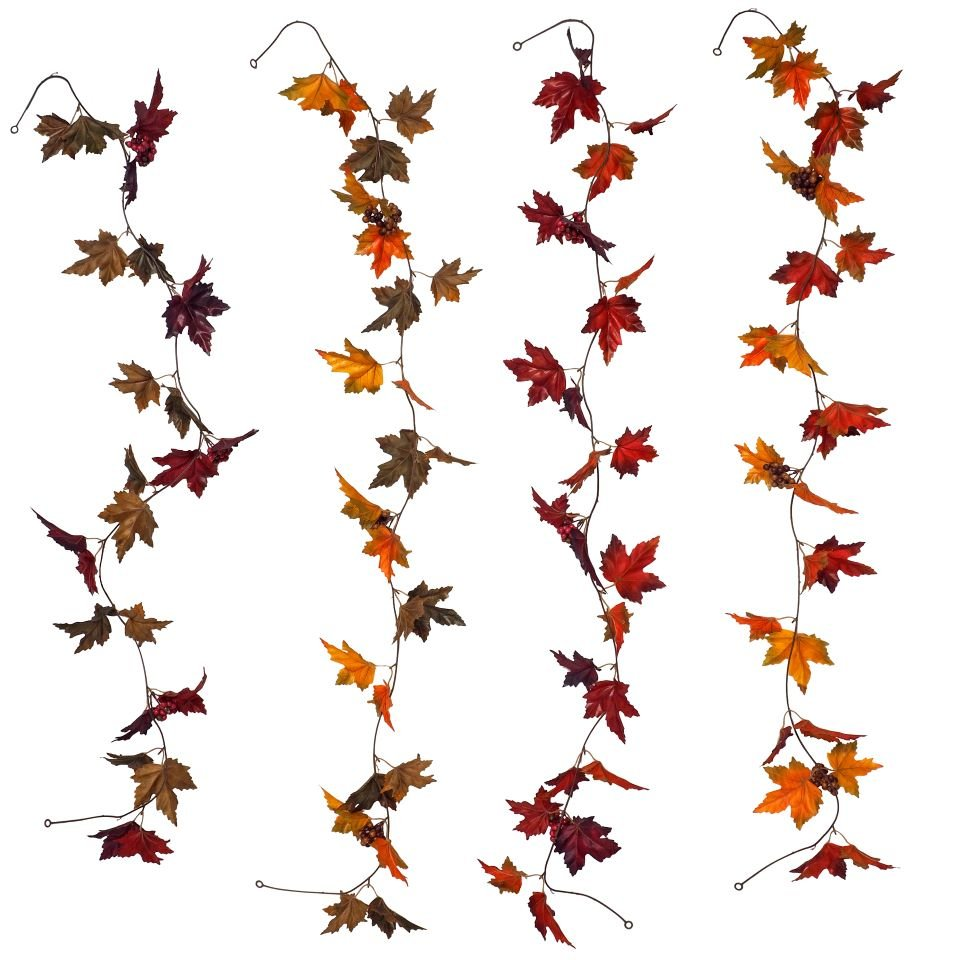 Maple and Oak Leaves Garlands