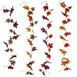 THANKSGIVING  maple /Oak Leaf Garland - 0