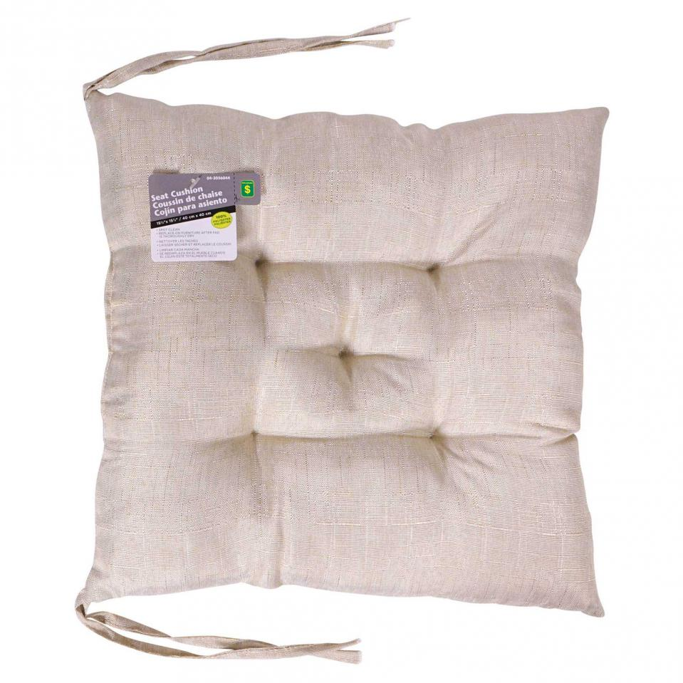 Coussin de chaise en polyester (Couleurs assorties)