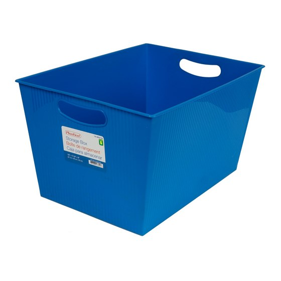Rectangular Storage Box (Assorted colours)