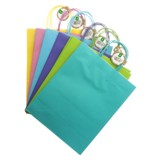Large Kraft Paper Bags with Handles 2PK (Assorted Colours) - 1