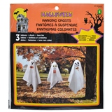 3PK Hanging Ghosts with Balloon Head - 0
