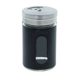 Salt & Pepper Shaker with Glass Window (Assorted Colours) - 0