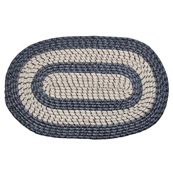 Braided Oval Door Rug (Assorted styles)