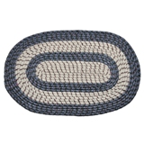 Braided Oval Door Rug (Assorted styles) - 0