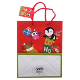 Gift Bag Medium Plain Finish 2PK (Assorted Colours and Patterns) - 3
