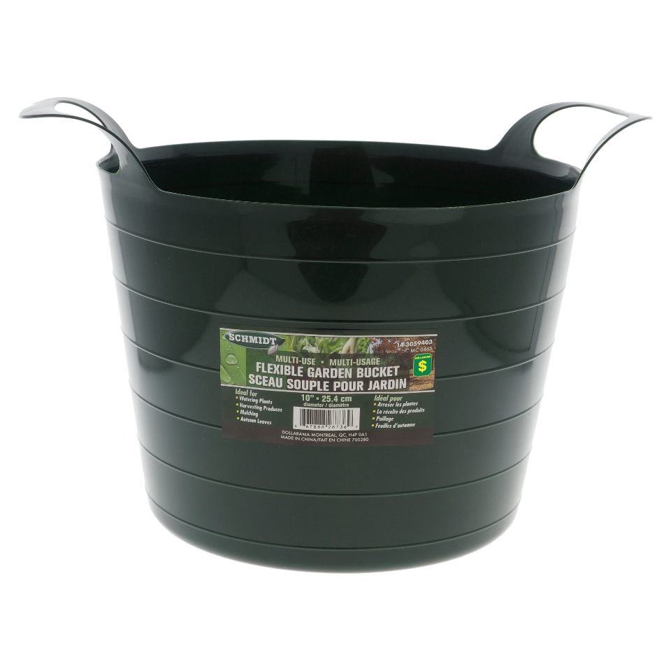 Plastic Garden Weeding Bucket with Handles