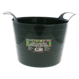 Plastic Garden Weeding Bucket with Handles - 0