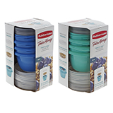 Snack Containers 3PK (Assorted Colours) - 1