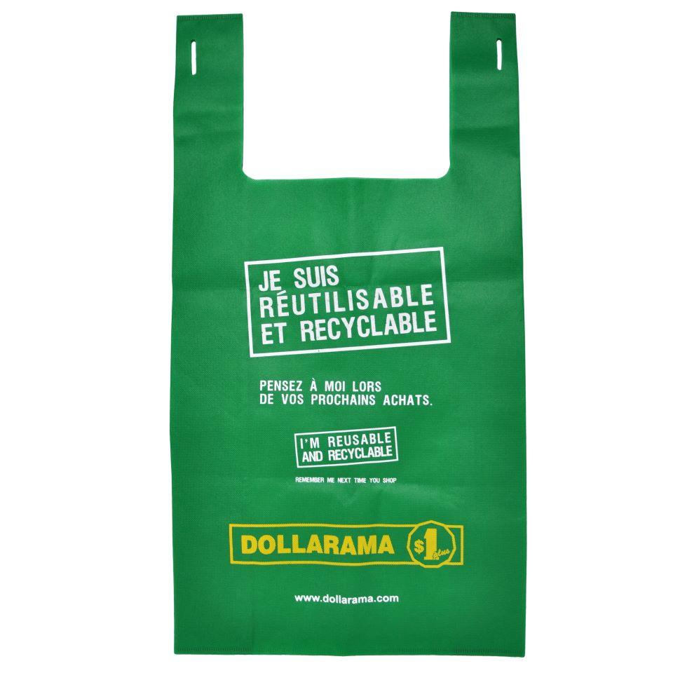 Grand sac Dollarama éco - Qc