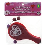 Valentines Maze,Pinball & Paddle Games Party Favors - 1