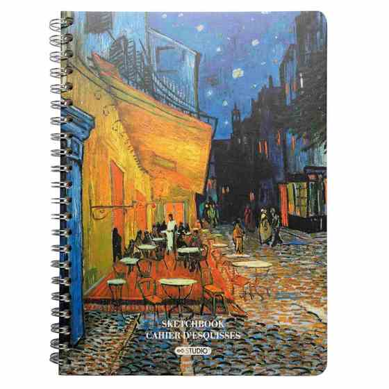 Printed Hard Cover Sketchbook (Assorted Models)