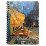 Printed Hard Cover Sketchbook (Assorted Models) - 0