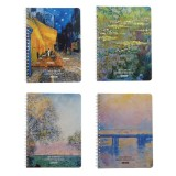 Printed Hard Cover Sketchbook (Assorted Models) - 1