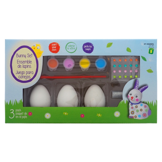3 PK Bunny Set (Assorted Designs)