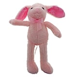 Peluche de lapin (couleurs assorties) - 1
