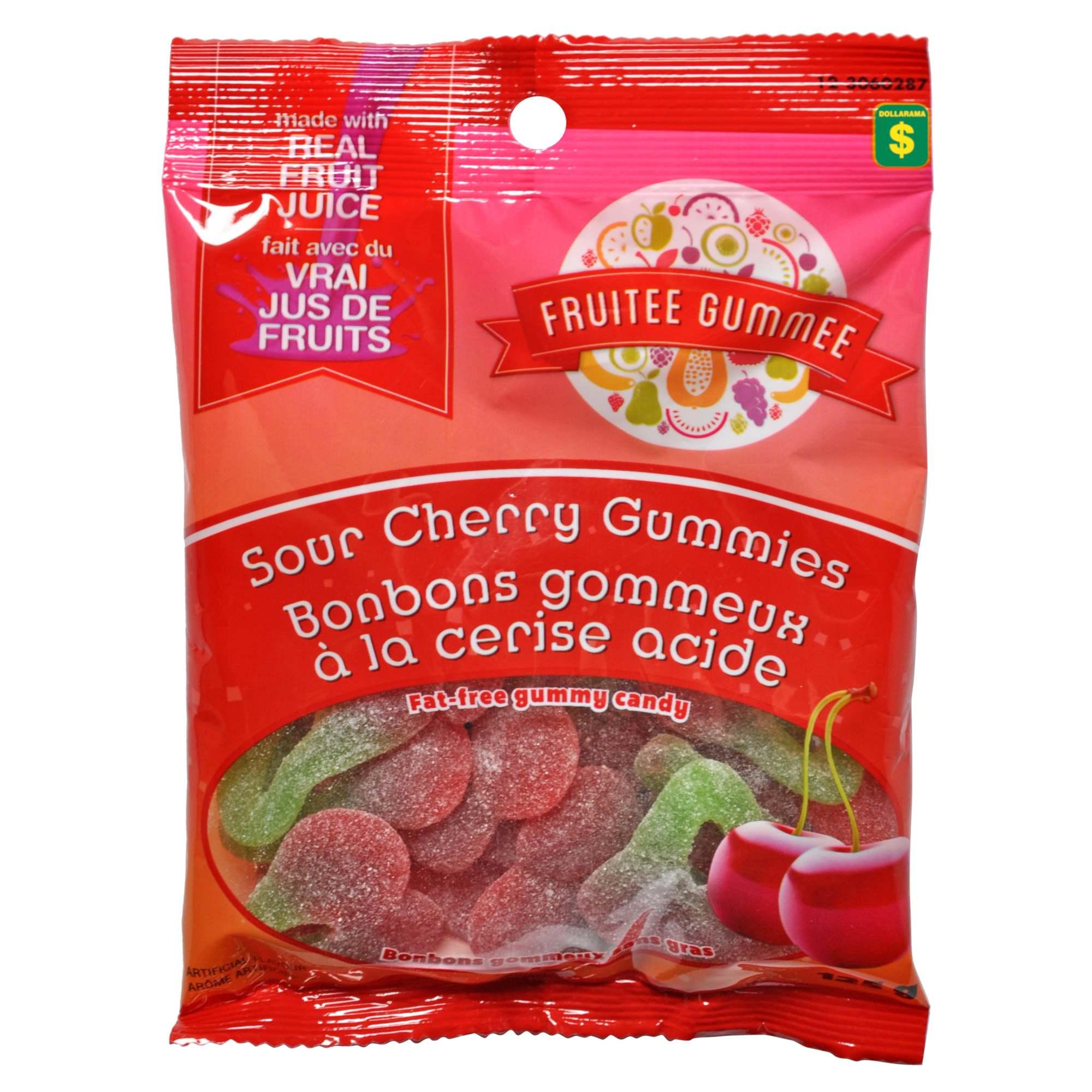 Sour Cherry Gummies Dollarama