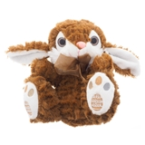 Easter plush bunny with embroided feet - 1