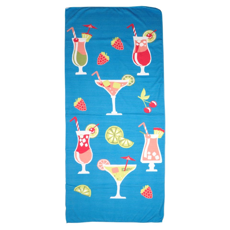 Printed Polyester Beach Towel