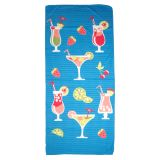 Printed Polyester Beach Towel - 0