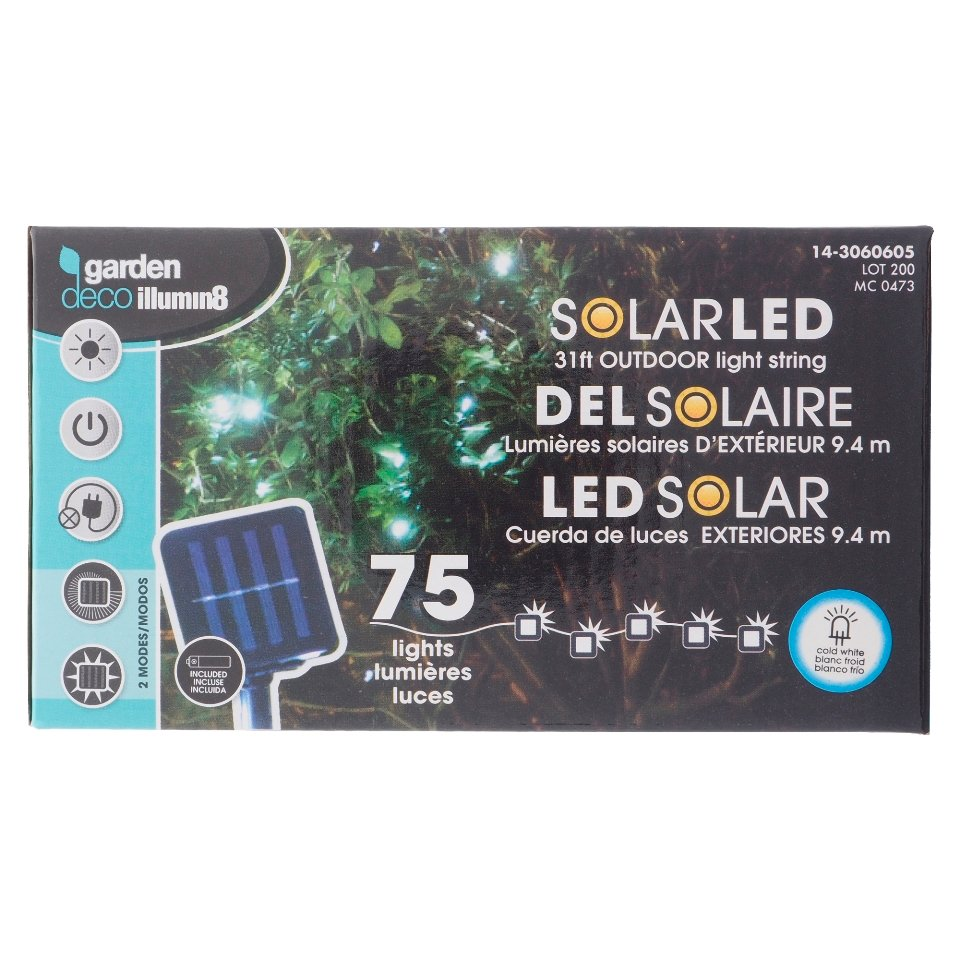 75 Mini Solar Led Outdoor Lights