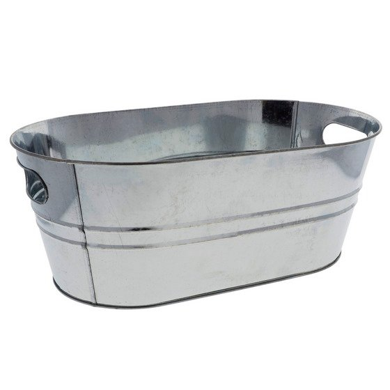 Metal Bucket with Handles