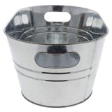 Metal Bucket with Handles - 1