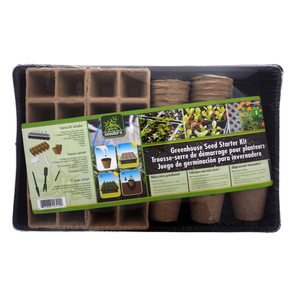 Grenhouse Seed Starter Kit